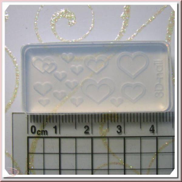 3D formička na nechty - Sweet Heart 053