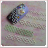 3D formička na nechty - Net Lace 058