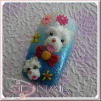 3D formička - Dog 074