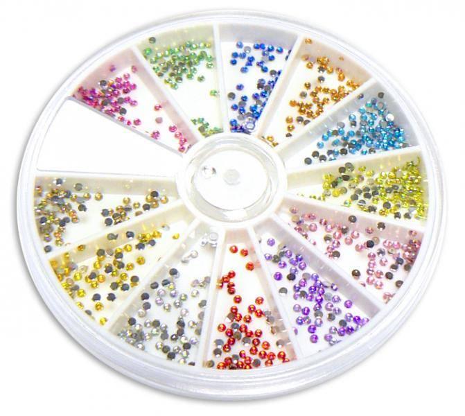 Diamanty mini AB v kolotoči