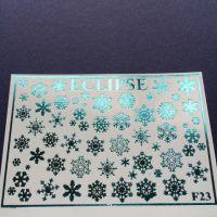 ECLIPSE Metalické vodolepky F23 metallic Blue