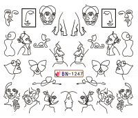 Vodolepky Fashion BN-1247