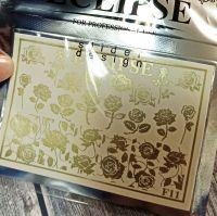 ECLIPSE Metalické vodolepky F11 gold matt