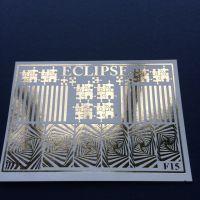 ECLIPSE Metalické vodolepky F15 gold