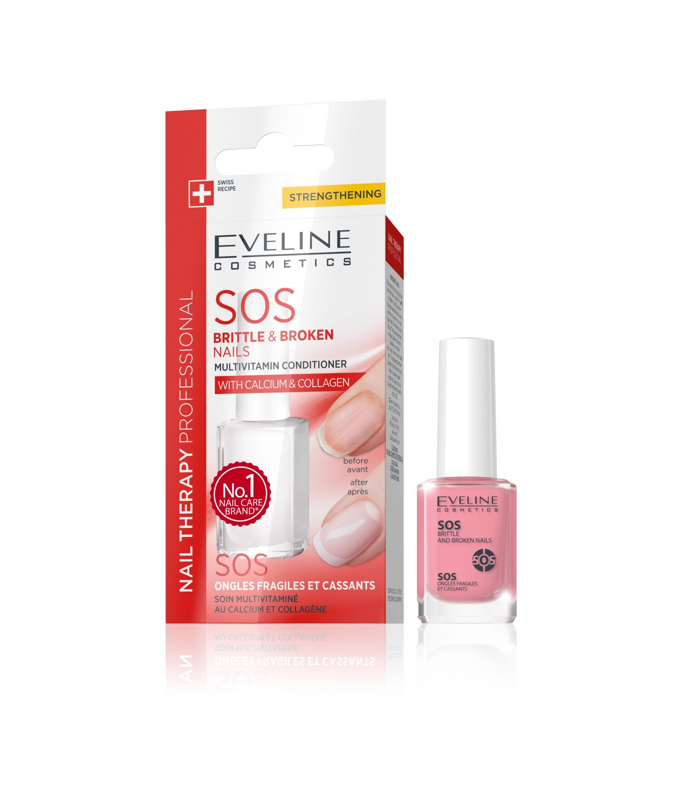 Eveline SOS pre lámavé a štiepajúce sa nechty