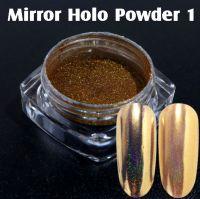 Mirror Holo Powder 1 Light Gold