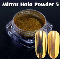 Mirror Holo Powder 5 Gold