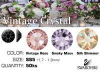 Swarovski F - Vintage Crystal