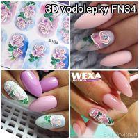 3D vodolepky FN34