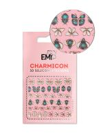 Charmicon 3D Silicone Stickers  #135 Insect