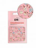 Charmicon 3D Silicone Stickers  #136 Magnolias