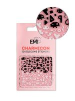 Charmicon 3D Silicone Stickers Chain #119 Secrets Symbols