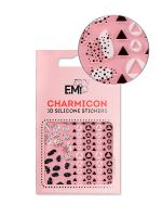 Charmicon 3D Silicone Stickers Chain #120 Geometric Pattern