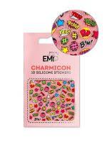 Charmicon 3D Silicone Stickers Chain #128 PopArt