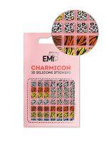 Charmicon 3D Silicone Stickers Chain #130 Zebra