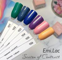 E.MiLac SCO Navy Blue #102, 9 ml