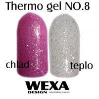 Farebný Thermo UV gél NO.8