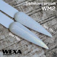 Trblietavý prášok WM2 - zlato farebné odlesky