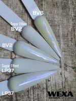Trblietavý prášok BV - modré odlesky