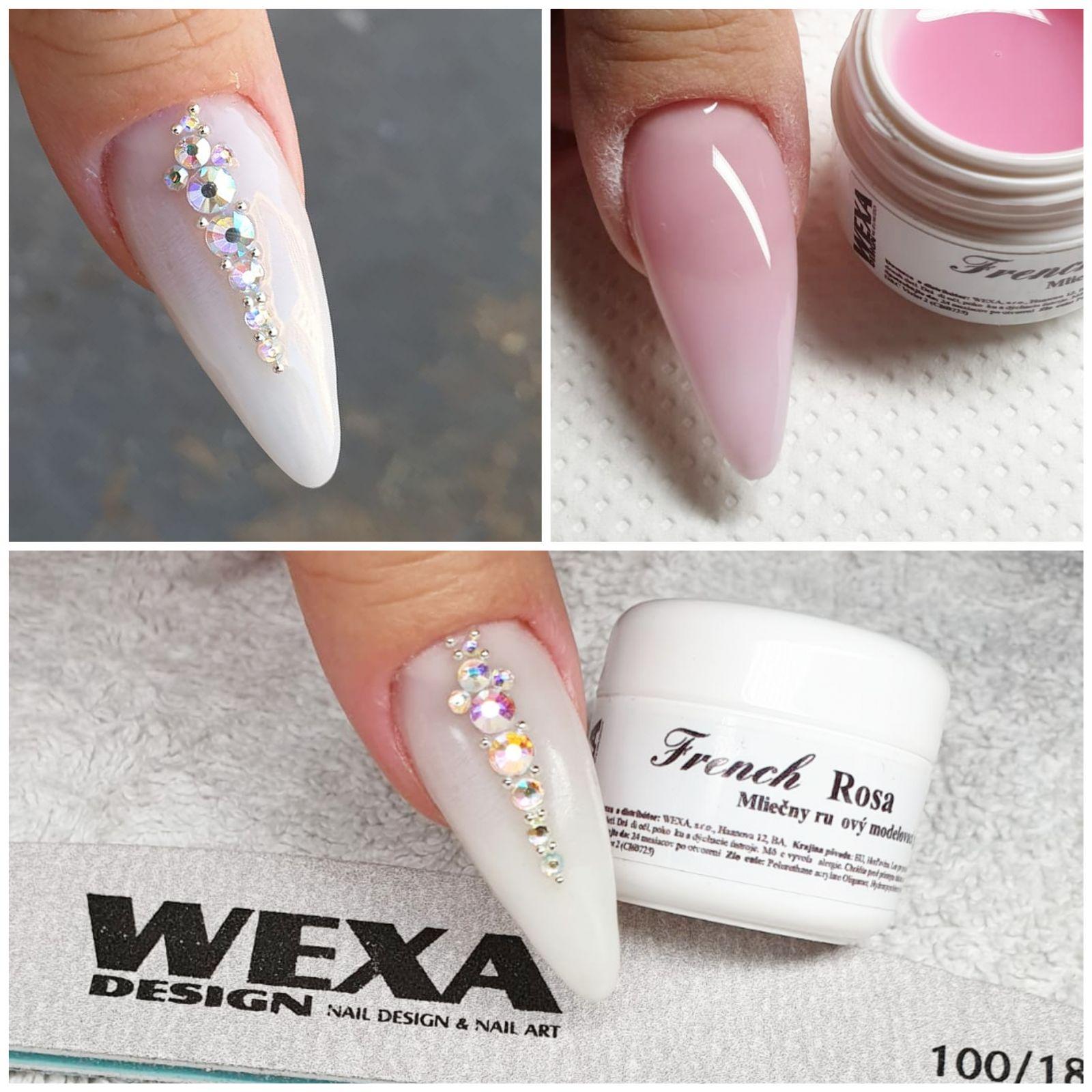 UV gel na nechty French Rosa - 5ml