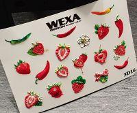 WEXA vodolepky 3D16