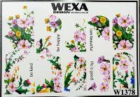 WEXA vodolepky W1378