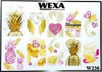 WEXA vodolepky W230