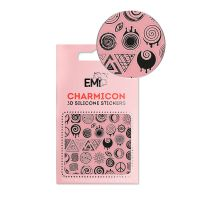 Charmicon 3D Silicone Stickers #145 Optical Print