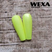 Neon Pearl color gél - Yellow
