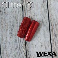 Glitter 31 - Red