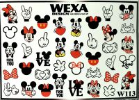 WEXA vodolepky W113