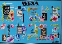 WEXA vodolepky W258 XXL