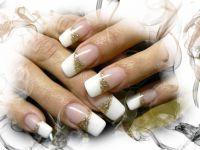 Ako použiť trblietavý prášok pri zdobení nechtov - 538120 - Gélové nechty zdobené trblietavým práškom