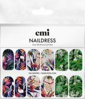emi Naildress #64 Tropical Leaves