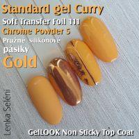 Farebný uv gél - Standard Curry