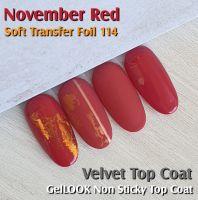 Farebný uv gél - Standard November Red
