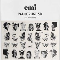 NAILCRUST 5D #29 Total Black