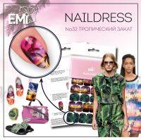 Naildress Slider Design #32 Tropical Sunset