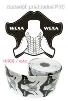 Šablóny na modeláciu - WEXA clear 500ks/rolka