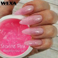 Starlite PINK UV/LED gel - 50ml