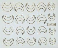 Vodolepky zlaté - C083 Lunula