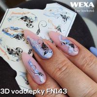 3D vodolepky na nechty FN143