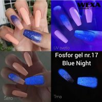 Fosfor gél -  17 Blue Night