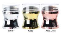 Priehľadná silikónová pečiatka na razítkovanie nechtov BIG    Gold, Rose Gold, Silver