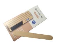 STALEKS pilník na nechty - Rovné drevené jadro - 50ks