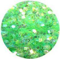 Konfety štvorčeky mini - 12 krikľavo zelené aqua