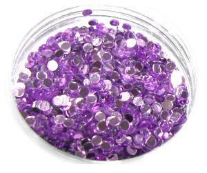 Konfety flitre 3D - 8 fialové