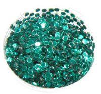 Konfety flitre 3D - 11 tmavo zelené