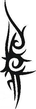 Tattoo šablónka - Tribal B1