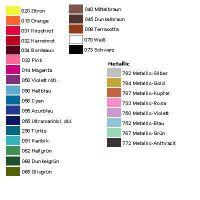 Farba 772 - Metallic Anthrazit